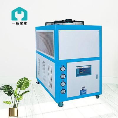 工业冷水机清洗